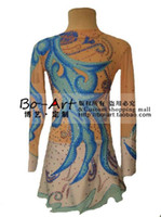 Wholesale hot sales gymnastics Dress Beautiful Figure New Brand gymnastics Dress Competition customize G103