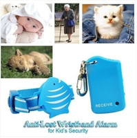 Wholesale Personal Security Anti Lost fish Wristband Alarm for Kid Child Pets Elder Safety key chain finder