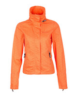 Wholesale bench jacket Barbeque BBQ Lady Sport coat casual Women fashion orange color