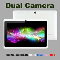 Wholesale Q88 Allwinner A13 inch Tablet PC Capacitive Screen Android MB DDR3 GB WIFI Dual Camera