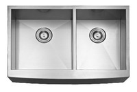 Wholesale Q83856 sus304 gauge Apron sink rectangular kitchen sink Stainless Steel handmade kitchen Sink