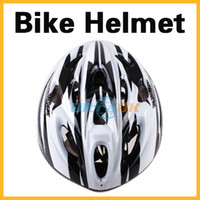 Wholesale NEW Road Cycling Bicycle Adult Men Bike Helmet With Visor Black amp White