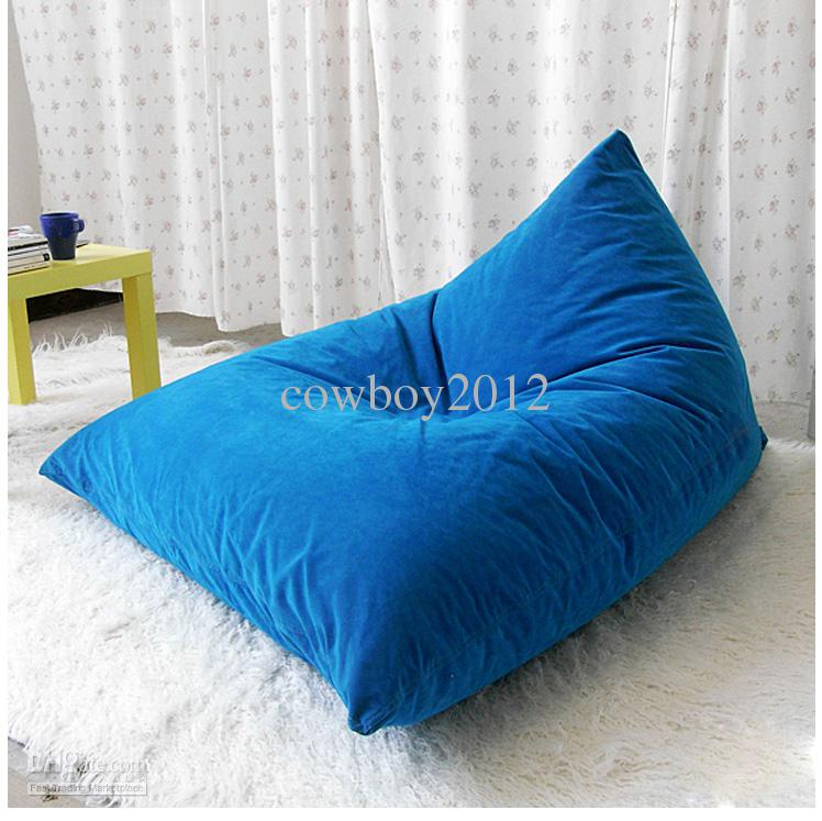 2017 blue bean bag chair pivot beanbag sitzsack lovesac cover from cowboy2012 dhgate com. Black Bedroom Furniture Sets. Home Design Ideas