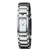 Wholesale Sell like hot cakes Fashion Quartz Watch White Dial Stainless Steel Bracelet Women s