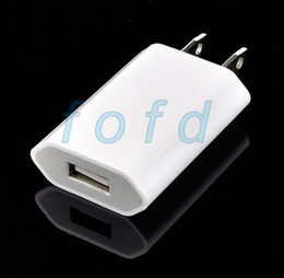 high quality New white EU USB Wall Home Charger AC Adapter EU Plug EU usb charger for iphone 5
