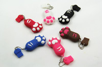 Wholesale Funny Feet USB Flash Memory Stick Pen Drive U disk Real GB GB GB GB box