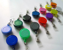 Multi color Retractable badge reel by factory price ID holder