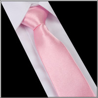 Wholesale Men s business casual wedding dress solid color of the classic silk tie cm NECK TIES