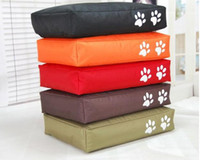 Wholesale Assorted colors dog beds pet bean bag cushion lazy beanbag sleeping stuffed bedding