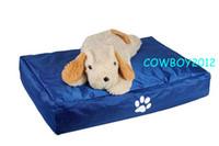 Wholesale Diamond blue doggie beanbag beds large size dog bean bag lounge pet bedding cushion