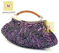 Wholesale Fashion women Elegant Noble Dinner Ladies Bag Evening Bag fashion bag clutch bags pearl embroidery bag X028