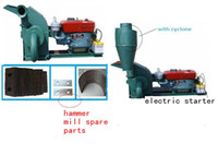 used engine - CF420A15HP diesel engine wood hammer mill for your family use CE certification