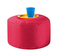 100% Polyester beanbag footstool - Kids bean bag reading chair adults footstool beanbags