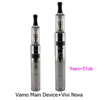 Electronic Cigarette Set Series Electronic Cigarette 2013 POP Provari VV Mod Vamo 2200mAh LavaTube with VIVI NOVA atomizer 1kit FREE SHIPPING