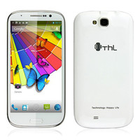 Wholesale THL W8 Inch Android MTK6589 Quad Core Smart Cell Phone WCDMA G GSM GB RAM GB MP Dual Sim GPS WiFi Dual Camera