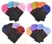 Wholesale New Patterned Men s Pre Folded Pocket Square Black Hanky Card Crown Insert