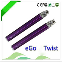 Wholesale Hot item Coming ego twist Capacity Variable Voltage battery mah mah mah Optional V V Adjustable E Cigarette Battery