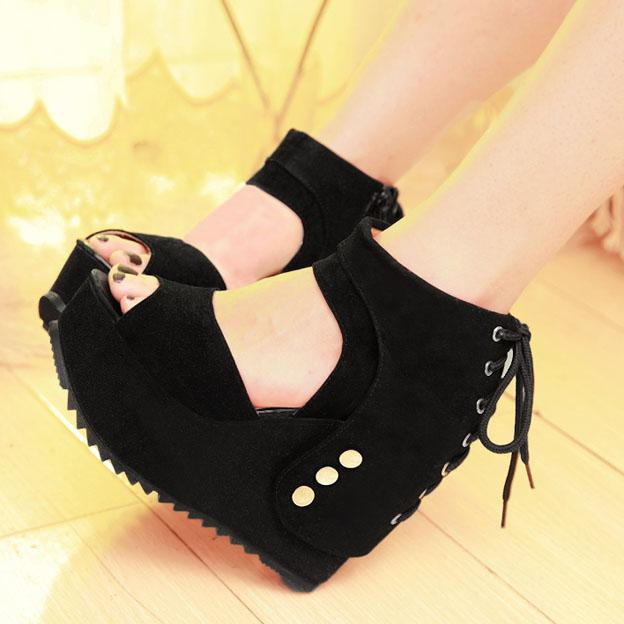 2013 Sandals Fashion Comfortable Platform Shoes Thin High Heeled ...