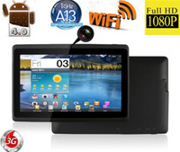 Wholesale Great New quot Google Q88 Android Tablet PC Allwinner A13 GB GHZ WIFI G Q88