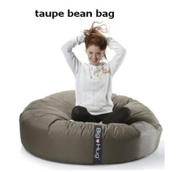 Wholesale Island design Taupe Multifunctional seat cuddle bean bag Quality guranteed beanbags round sitting cushions baby blue