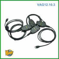 Wholesale 2013 Newest Arrival VAG COM HEX CAN USB Interface VAG VW Diagnostic cable with DHL HK Post OBD02