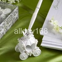 Wholesale Wedding Favor unique design Fairy tale the carriage pen pen rack pen holder Senior gift