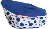 baby bean bag - Blue spot baby bean bag doomoo seat