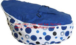 Wholesale Blue spot baby bean bag doomoo seat