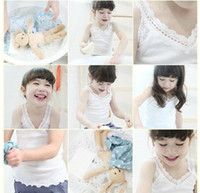 5T-6T 90-100-110-120-130cm Girl 2013 New Summer children baby cotton tank tops girls before and after two wearing sling vest Pink White Blue,M93