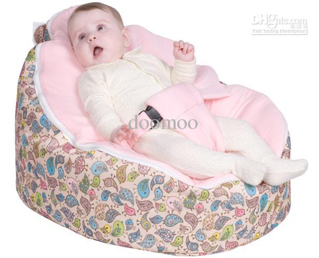 2017 Baby Bean Bag Cover Kids Sofa Chair Furniture Double Layers