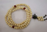 Wholesale 30pcs White sandal wood amp Red agate bracelet the white sandalwood beads prayer beads rosary bracelet
