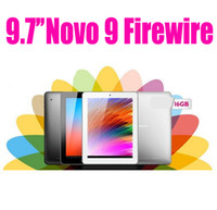 Wholesale Ainol Novo Firewire Spark K Retina IPS Quad core Tablet PC AllWinner Android G G Dual Camera M M Black Silver