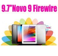 Android 4.1 9.7 inch 16GB Ainol Novo 9 Firewire Spark 9.7' 4K Retina IPS Quad core Tablet PC AllWinner Android 4.1 2G 16G Dual Camera 2.0M+5.0M Black Silver