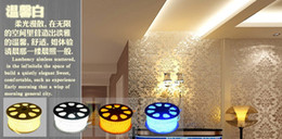 Wholesale LED strip lights SMD lamps bedroom itting room top add Transparent plastic square tube waterproof highlighting lights bulbs