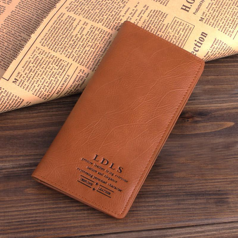 2013 male short design genuine leather wallet mens cowhide