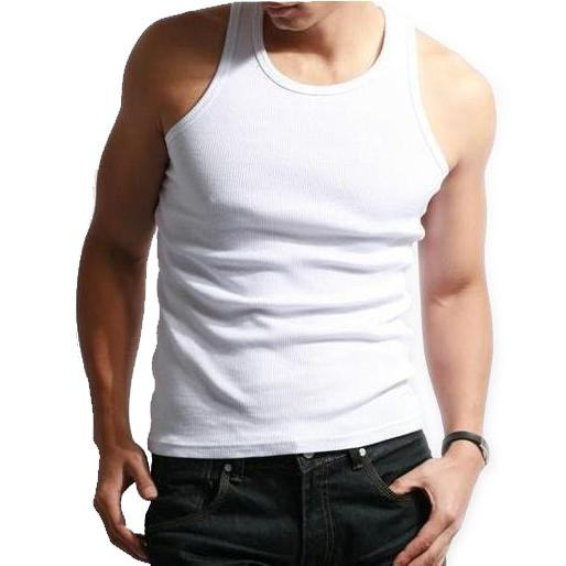 Men's Tank Underwear Cotton T Shirt Summer Clothes Slim Tank ...