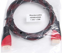 Wholesale m HDMI To HDMI Video Connector Cable For PS3 HDTV VIRGIN LED D TV LAPTOP