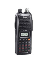 Wholesale Handheld V82 way radio ICOM IC V82 VHF W walkie talkies profession FM Transceiver