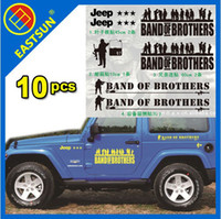 Glue Sticker   wholesale EASTSUN Quality Decorate Reflective PVC 3M Sticker Decal Auto Car Vehicle Wall Glass - Band of Brothers