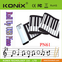 Wholesale 61keys Piano With Sounder Hot style usb piano for promotion