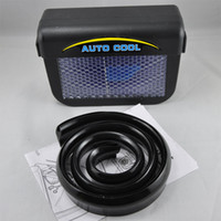 Wholesale Auto cool solar Through fan for car The powerful fan blows hot air out of your parked car with retail packaging