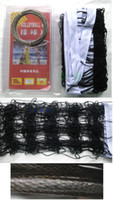 Wholesale ZT wax line competitions Volleyball Net with iron wire net