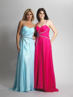 Wholesale 2013 summer fashion and lovely spaghetti column evening dresses chiffon sweep train and bright beads