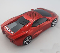 Wholesale Mini Car Model Portable DIGITAL Stereo lamborghini speaker support TF Card USB for iphone S Samsung Galaxy S4 HTC iPod Laptop