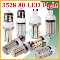 Wholesale G9 E27 E14 V V W SMD LED Cool Warm White Corn Light Bulb without Cover