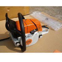 Wholesale Hot selling Stihl MS381 MS hp Petrol Gas Gasoline Chain Saw Chainsaw CC KW inch Guide Bar drop shipping