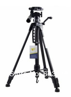 Wholesale CM Extend Professional D Digital Camera Tripod Video Record Machine Cradle Head Stands Holder Flexible Photography Tripus