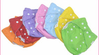 Wholesale Adjustable baby diapers pants pocket diapers washable cloth diapers breathable to prevent side leakage