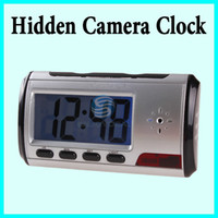 Wholesale Digital Motion Detector Clock Hidden Camera DVR Camcorder Use TF Card as storage Not Included