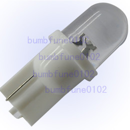 Wholesale 100 of T10 W5W LED Inverted Side Park Position Light Wedge Bulb White best price